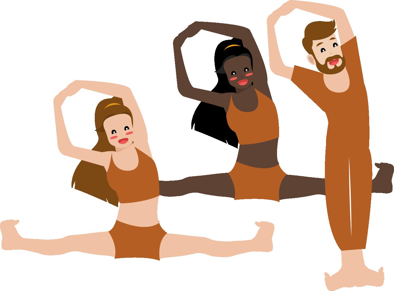 Gym stretching
